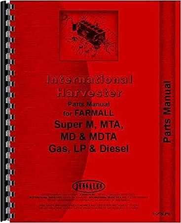 amazon com farmall super mta tractor parts manual home parts diagram for farmall super c 1951 farmall super a parts diagram #8