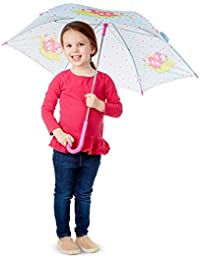 Trixie Ladybug Umbrella for Kids With Safety Open and Close