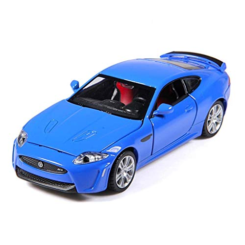 Chef Vehicle Playsets 1:32 Jaguar XKR-S Car Model Alloy Diecast Toy Metal Vehicle Car Model Kids Gift ()