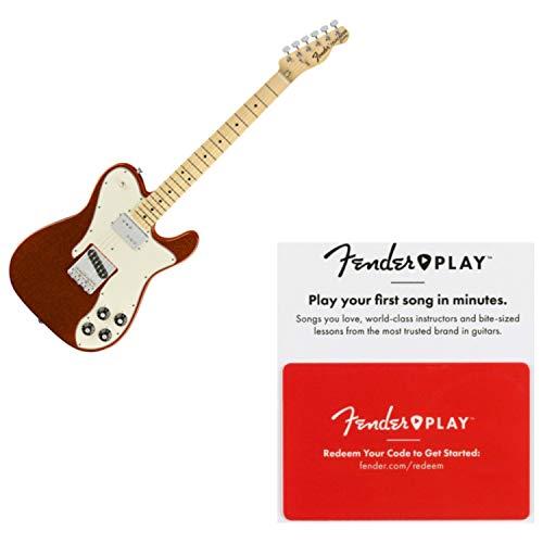 Custom Classic Telecaster 60s Series - Fender 0147222314 Limited Edition 72 Tele Custom, Maple Fingerboard, Orange Spar