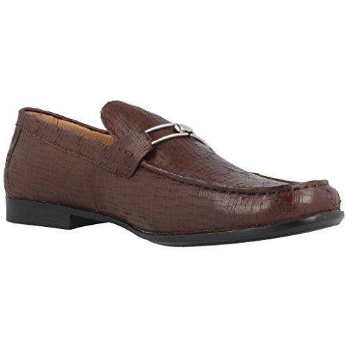 STONEFLY UOMO MOCASSINO , 104709, SUMMER II, DARK BROWN