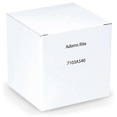 Deadlatch Latch - Adams Rite 7103A-540 AR Deadlatch or Cylindrical Latch Electric Strike Fail Secure 24VAC (Less Facep