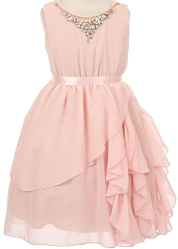 Pleated Charmeuse Prom Gown - 8