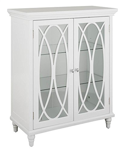 Double Door Floor Cabinet (Double Door Floor Cabinet in White)