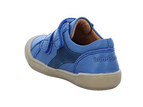 Bundgaard gall BG101013G Blue Kinder Klett-Halbschuh in Mittel Blue S