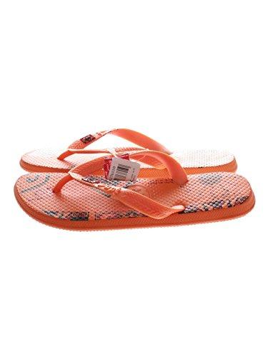 Unbekannt Mono Picture, Scarpe da corsa donna arancione Orange