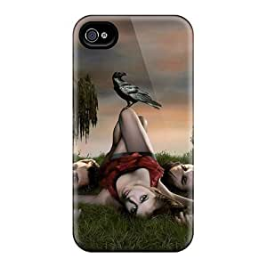 Faddish Phone The Vampire Diaries Tv Series 2010 Case For Iphone 4/4s / Perfect Case Cover