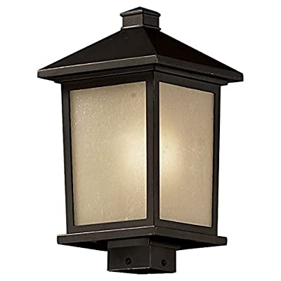Z-Lite Holbrook 537PHB Outdoor Post Light