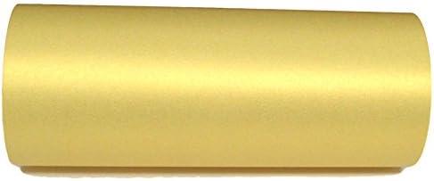 20 Sheets weiches gelb dezent goldschimmerndes A4-Perlglanz-Papier, 120 g/m², doppelseitig, geeignet für Tintenstrahl- und Laserdrucker