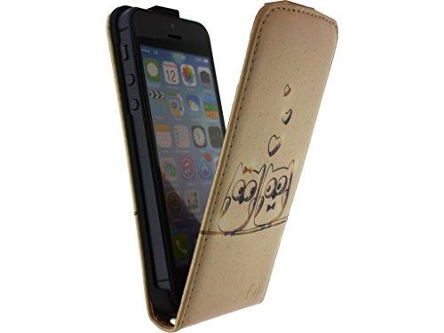Mobilize Ultra Slim Flip Case Apple iPhone 5/5S Owls