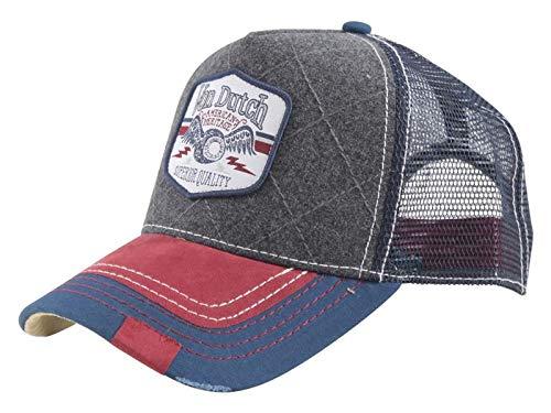 Von Dutch Unisex Shield Patch Trucker Hat 148f3d00bc80