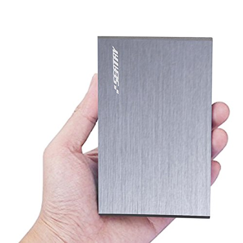Seatay Aluminum Tool-Free 2.5 inch SATA to USB 3.0 External Hard Disk Drive Enclosure for 9.5mm 7mm 2.5'' SATA HDD and SSD Support UASP (Gray) by SEATAY (Image #2)