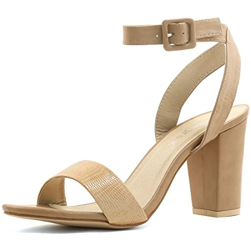 Allegra Womens Chunky Ankle Sandals