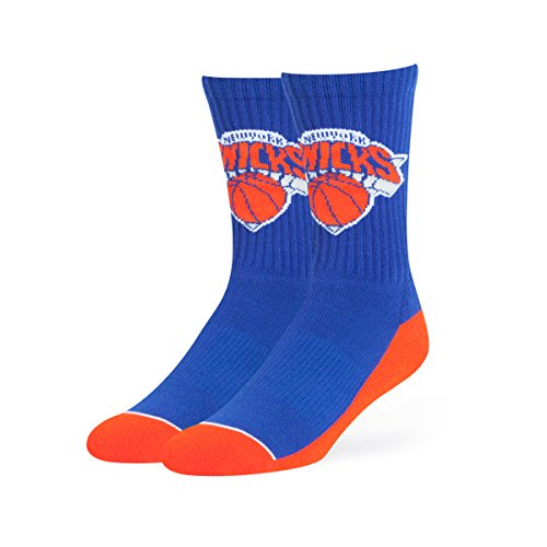 fan products of NBA New York Knicks OTS Anthem Sport Sock, Royal, Large