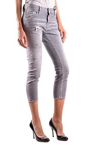Donna S75lb0062s30260852 Jeans Grigio Cotone Dsquared2 wfqSaa