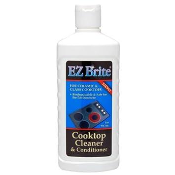EZ Brite Glass U0026 Ceramic Cooktop Cleaner U0026 Conditioner ...