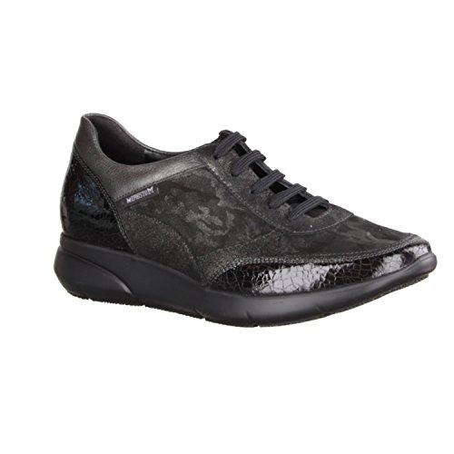 Zapatos para de mujer de Piel Mephisto cordones Schwarz Bronce Diane qP655a