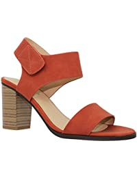 Women's Chunky Low Heel Velcro Strappy Sandal