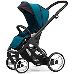 Mutsy Evo Stroller with Black Frame, Pacific