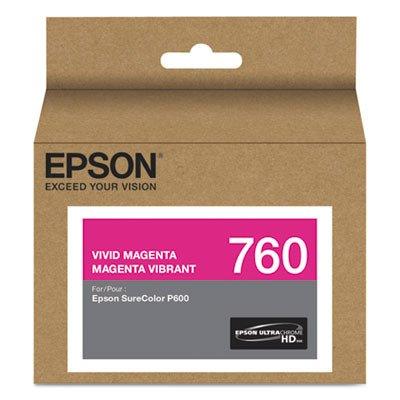 Ultrachrome Magenta Ink (Epson T760320 T760320 (760) UltraChrome HD Ink Vivid Magenta)