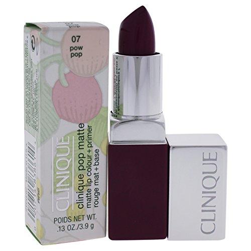 Clinique Pop Matte Lip Colour + Primer, No. 07 Pow Pop, 0.13 - Pow Pop