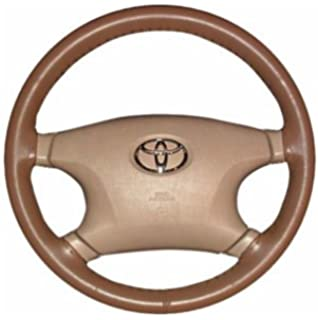 Amazon.com: Wheelskins Genuine Leather Brown Steering Wheel Cover ...