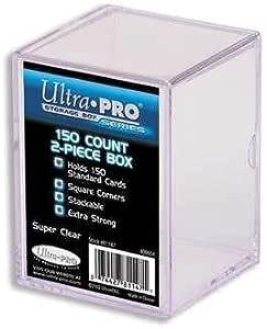 UltraPro 81147 - Caja para cartas 150 cartas coleccionables (2 unidades), transparente: Amazon.es: Electrónica