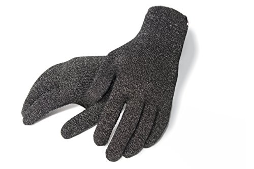 Agloves Polar Sport Unisex Touchscreen/Smartphone Gloves, Fleece Lined Interior For Comfort & Warmth, Compatible with: iPhone, Android, iPad & Nexus - XL Black