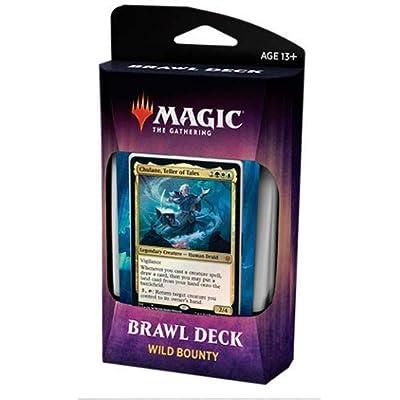 Magic The Gathering Throne of Eldraine Wild Bounty Brawl Deck C67460000-WIL: Toys & Games