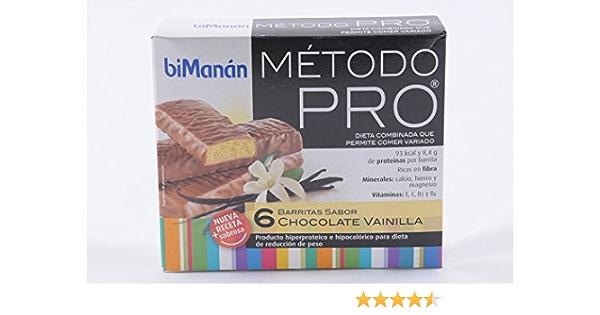 BIMANAN - BIMANAN PRO BARR CHOC VAINI 6: Amazon.es: Salud y ...