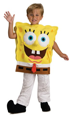 Spongebob Halloween Costume (Child's Spongebob Squarepants Costume, Toddler)