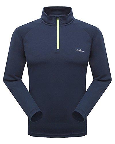 Clothin Men Outdoors Quick drying Long sleeve Gym sports T-shirts MCT13301z2-L