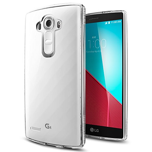 Spigen Ultra Hybrid LG G4 Case with Air Cushion Technology and Hybrid Drop Protection for LG G4 2015 - Crystal Clear