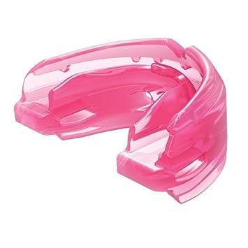 776b473efc919 ShockDoctor -Protège-dents adultes - Double Bretelles - Rose - 10+: ...