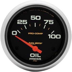 [Autometer 5427 Pro Comp Series Oil Pressure Gauges] (Autometer Pro Comp Pressure Gauge)