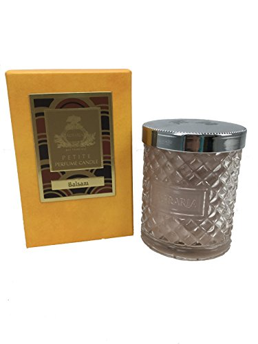 Agraria San Francisco Crystal Cane Candle, Balsam, 3.4 Ounce Agraria Balsam Perfume Candle