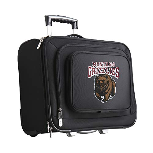 NCAA Montana Grizzlies Mojo Wheeled Laptop Suitcase