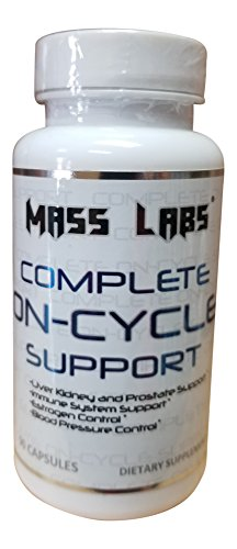Complete On-Cycle Support-Mass Labs-On Cycle Protection & Liver Assist (60 Capsules) (Best Liver Protection On Cycle)