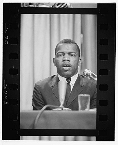1964 Newspaper (1964 Photo John Lewis speaking at a meeting of American Society of Newspaper Editors, Statler Hilton Hotel, Washington, D.C.] / [MST Location: Washington D.C.)