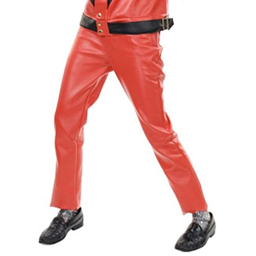 BOS Adult 80s Pop Star Thriller Costume Pants Adult Standard]()