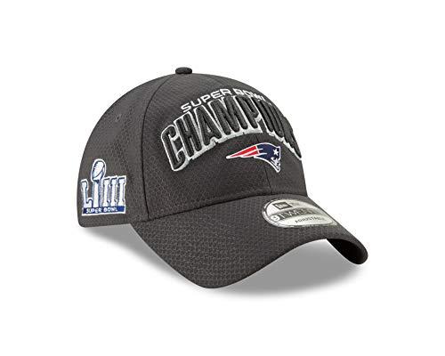 New Era New England Patriots Super Bowl LIII Champions Parade 9Twenty Snapback Adjustable Hat - Graphite