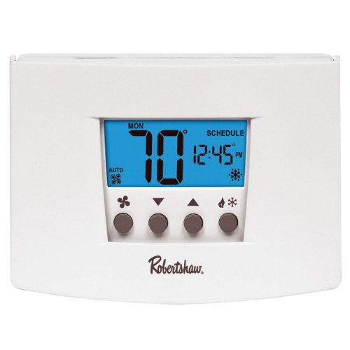 - Robertshaw RS4220 2 Heat/2 Cool Universal Digital Non Programmable Multistage Thermostat