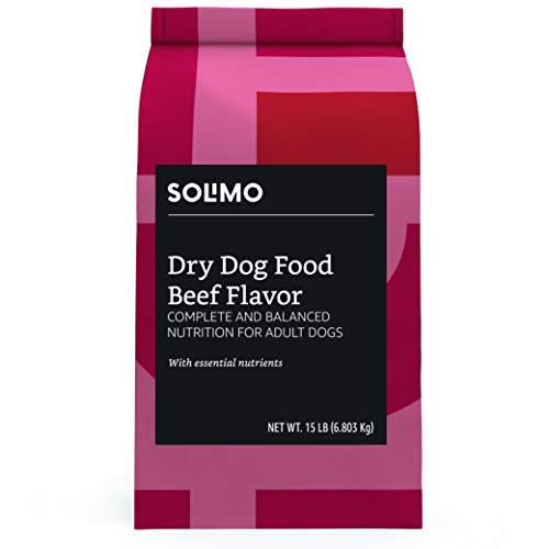 Amazon Brand - Solimo Basic Dry Dog Food, 15 lb bag Only $4.94 **HOT**
