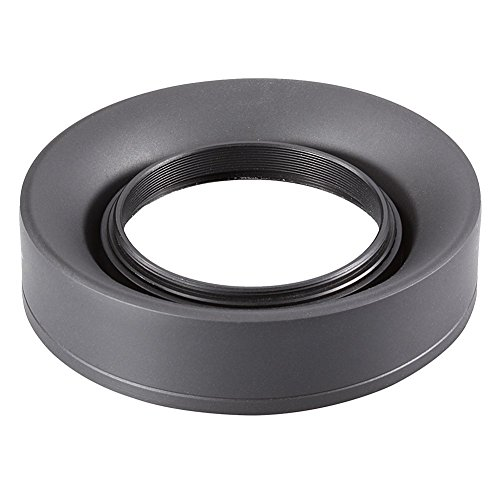 Neewer® 58MM 3-in-1 Collapsible Rubber Lens Hood for Camera Lens with 58MM Filter Thread, such as CANON Rebel T5i T4i T3i T2i XT XSi, CANON EOS 700D 650D 550D 400D 350D 300D 100D 60D and More 1 Collapsible Rubber Lens