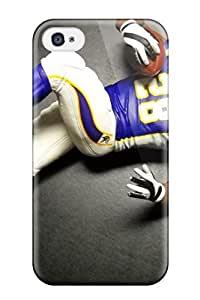 New Fashionable ZippyDoritEduard XCMgarA4802MGZRo Cover Case Specially Made For Iphone 4/4s(adrian Peterson Football )