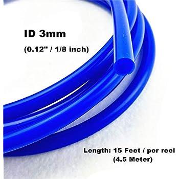 Autobahn88 High Performance Silicone Vacuum Hose OD 0.35 ID 0.16 Neon Yellow 9mm 4mm 4.5 Meter 15 Feet Per Reel