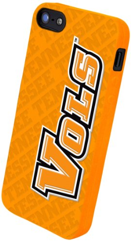 (Forever Collectibles NCAA Tennessee Volunteers/Lady Volunteers Silicone Apple iPhone 5 / 5S Case)