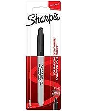 Sharpie Marker permanentny | drobny punkt | czarny | 1 sztuka