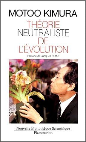 Livre Théorie neutraliste de l'évolution pdf ebook