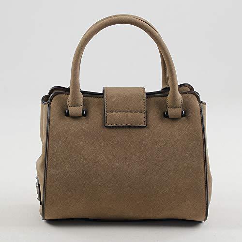 w Bolso L Marrón Mujer 11x20x23 Fidenza De taupe Para Small Shopper X Cm Mano Eferri H vxd6Snv